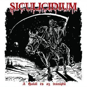 """SICULICIDIUM (Rom) – 'A halál és az iránytu' 7""""EP (clear vinyl)"""