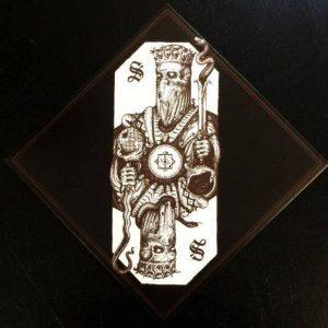 "SVARTIDAUÐI (Ice) – 'Svartidaudi' 7""EP (Amber colored vinyl)"