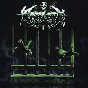 WARLORD UK – 'Maximum Carnage' CD
