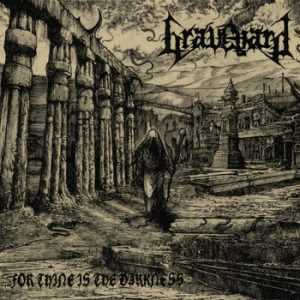 GRAVEYARD (Spa) – 'For Thine is the Darkness' CD Slipcase