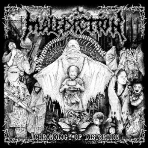 MALEDICTION (UK) – 'Chronology Of Distortion' CD
