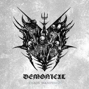 DEMONICAL (Swe) – 'Chaos Manifesto' CD Digipack Slipcase