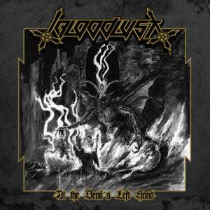 BLOODLUST (Aus) – 'At the Devil's Left Hand' CD