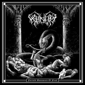 KHNVM – 'Foretold Monuments of Flesh' CD Digipack
