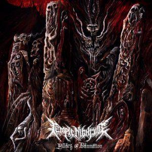 TEMPLE NIGHTSIDE (Aus) – 'Pillars of Damnation' LP