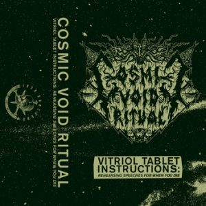 COSMIC VOID RITUAL (USA) - Vitriol Tablet Instructions TAPE