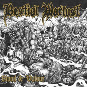 BESTIAL WARLUST (Aus) – 'Blood & Valour' CD Digipack