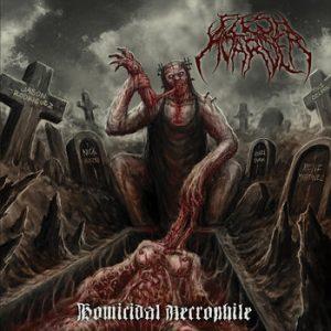 FLESH HOARDER (USA) – 'Homicidal Necrophile' CD