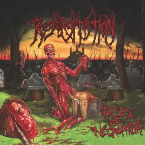 REGURGITATION (USA) – 'Tales Of Necrophilia' CD w/ DVD Digibook