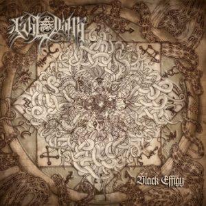 """EVIL DAMN (Per) – 'Black Effigy' 7""""EP Gatefold"""