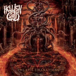 HELLISH GOD (It) – 'The Evil Emanations' CD