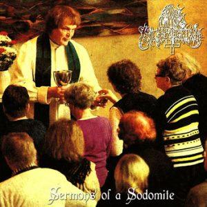 """ANAL BLASPHEMY (Fin) – 'Sermons of a Sodomite' 7""""EP"""