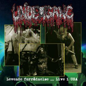UNDERGANG (Dk) – 'Levende Forradnelse… Live i USA' CD Digipack