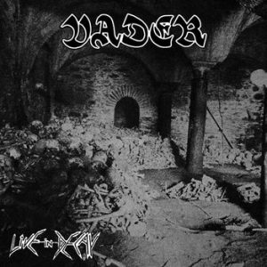 VADER (Pol) - 'Live in decay' CD Digipack
