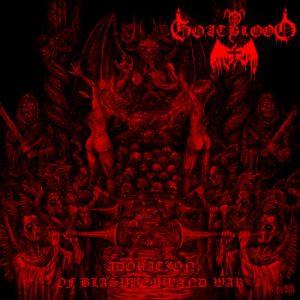 GOATBLOOD (Ger) – 'Adoration of Blasphemy and War' CD