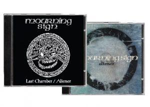 MOURNING SIGN (Swe) – 'Last Chamber / Alienor' CD