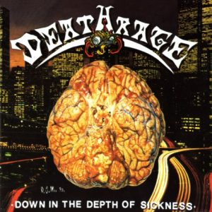 DEATHRAGE (It) – 'Down In The Depth Of Sickening' CD