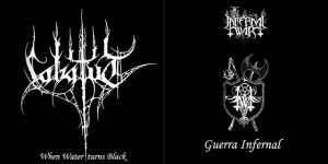 IN INFERNAL WAR / LABATUT (Bra) – split LP