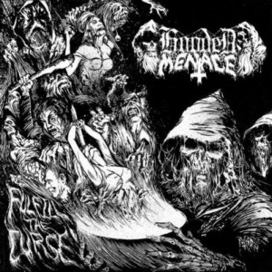 HOODED MENACE (Fin) 'Fulfill the Curse' D-LP Gatefold (Silver vinyl)