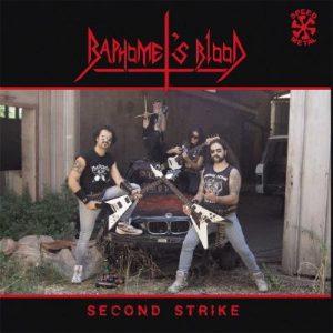 BAPHOMET'S BLOOD (It) – 'Second Strike' LP