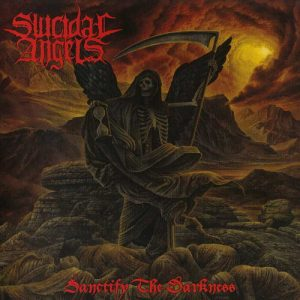 SUICIDAL ANGELS (Gr) – 'Sanctify the Darkness' LP Gatefold