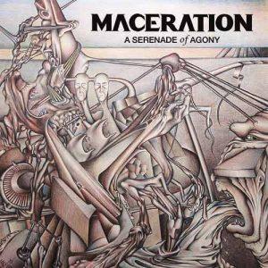 MACERATION (Den) – 'A Serenade Of Agony' LP (Red vinyl)