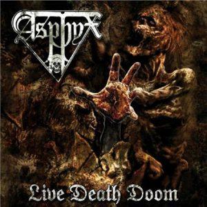 ASPHYX (Nl) – 'Live Death Doom' D-LP Gatefold (BLACK VINYL)