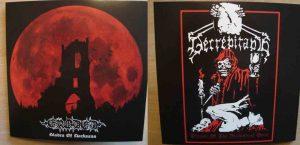 "ERODED / DECREPITAPH (Ger/USA) – split 7""EP (Red vinyl)"