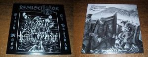 RESUSCITATOR / SACRIPHYX (USA/Aus) – split LP