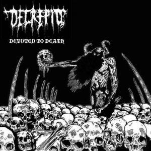 DECREPID (UK) – 'Devoted To Death' LP+Patch
