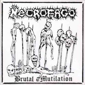 NECROFAGO (Bra) – 'Brutal Mutilation' LP Gatefold (FIRST PRESS)