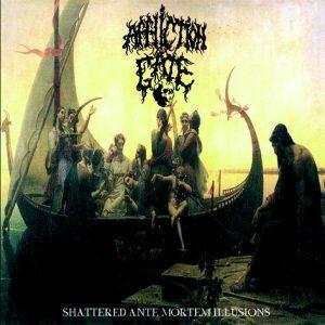 """AFFLICTION GATE (Fra) – 'Shattered Ante Mortem Illusions' 10""""MLP"""