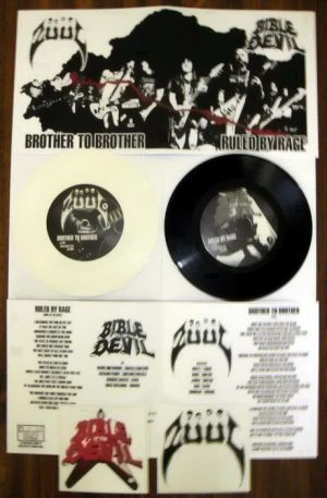 "ZUUL / BIBLE OF THE DEVIL (USA) – Split 7""EP"
