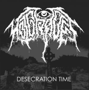 """HOT GRAVES (USA) – 'Desecration Time' 7""""EP"""