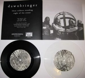 "DAWNBRINGER(USA) – 's/t'7""EP (WHITE VINYL)"