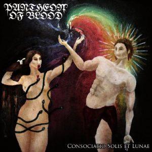PANTHEON OF BLOOD (Fin)  - 'Consociatio Solis et Lunae' 7'EP Gatefold