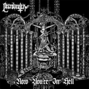 """NECROWRETCH (Fr) – 'Now You're In Hell' 7""""EP (Red Vinyl)"""