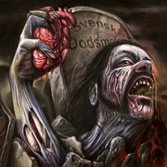BLOOD MORTIZED (Swe) – 'The Key To A Black Heart' LP Gatefold