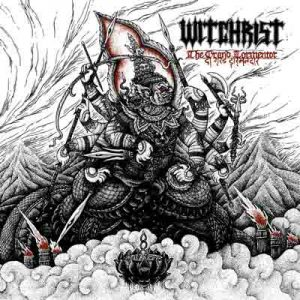 WITCHRIST (NZ) – 'The Grand Tormentor' D-LP Gatefold (Red vinyl)