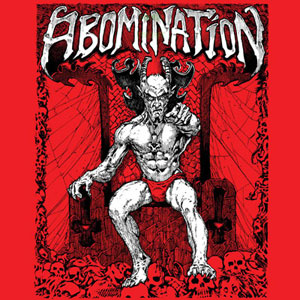 ABOMINATION (USA) – 'Demos' LP Gatefold + Poster