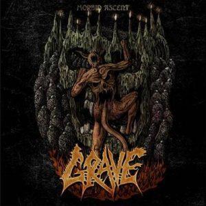 GRAVE (Swe) – 'Morbid Ascent' MLP (ORANGE VINYL)