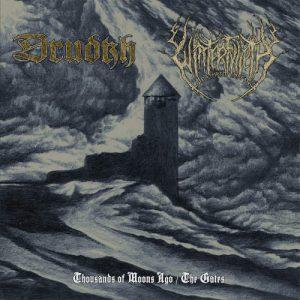 DRUDKH / WINTERFYLLETH – split LP (Splatter vinyl)