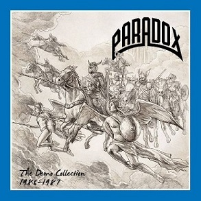 PARADOX (Ger) – 'The Demo Collection 1986-1987' D-LP Gatefold