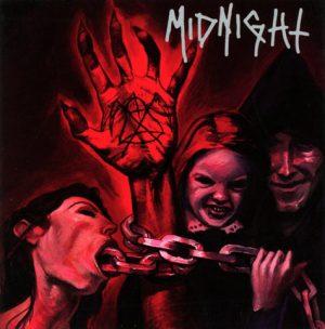 MIDNIGHT (USA) – 'No Mercy For Mayhem' LP (Oxblood vinyl)
