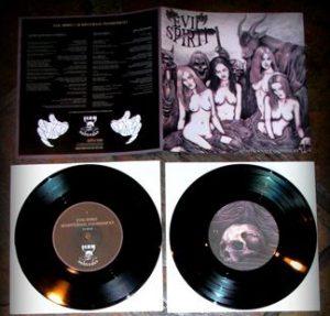"""EVIL SPIRIT (Ger) – 'Sempiternal Punishment' 7""""EP"""