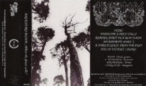ANCESTORS BLOOD (Fin) – 'When the forest calls' Tape