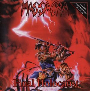 MASSACRA (Fra) – 'Final Holocaust + bonus' CD