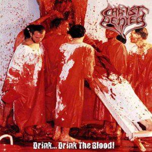 CHRIST DENIED (Spa) – 'Drink... Drink the Blood!' CD