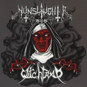 "NUNSLAUGHTER / WITCHTRAP – Split 7""EP (Grey splatter vinyl)"