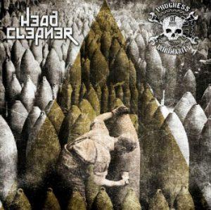 HEAD CLEANER / PROGRESS OF INHUMANITY (Gr) – split LP